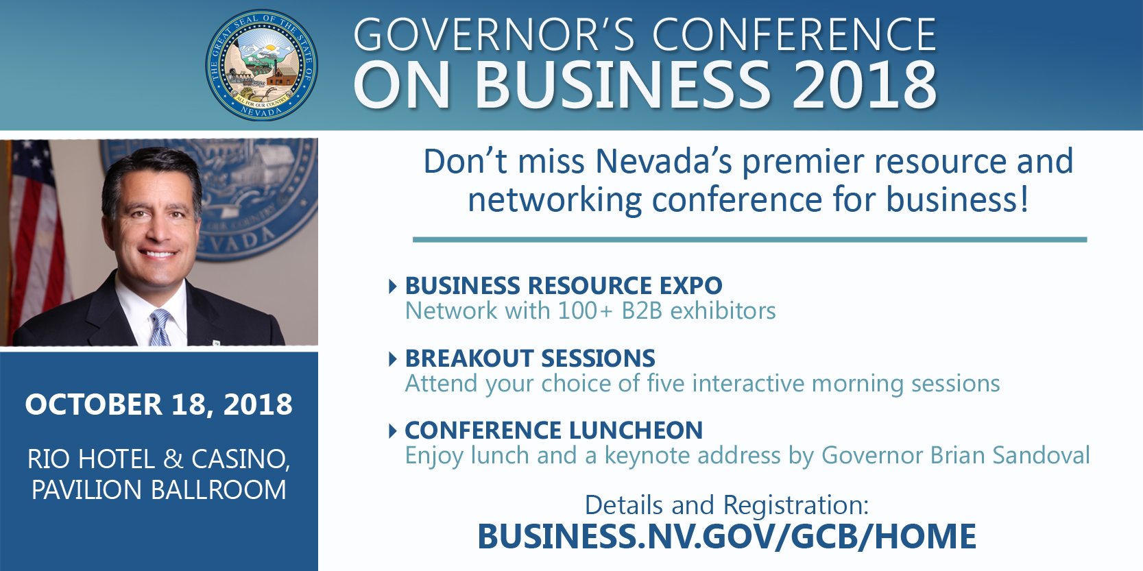 Governor's Conference on Business 2018